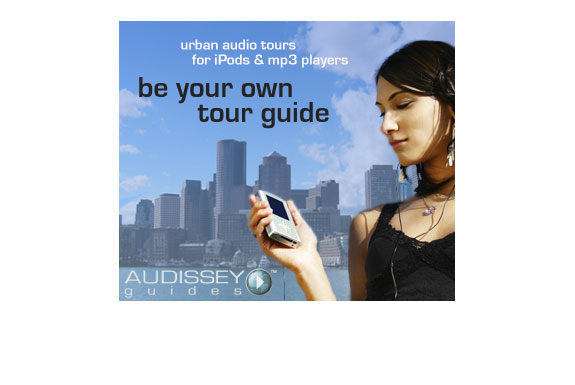 Audissey Audio Travel Guides