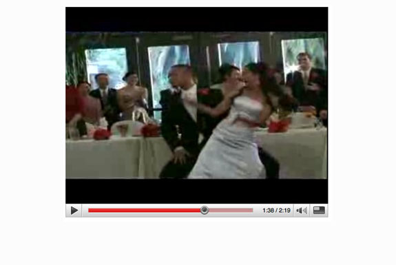Cool YouTube: Surprise Wedding Dance