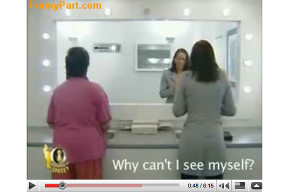 Cool YouTube: German Fake Washroom Mirror Prank