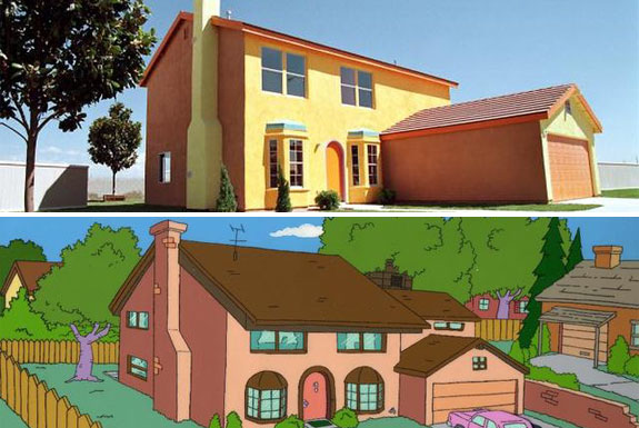 The real life simpsons house cool review for 742 evergreen terrace springfield