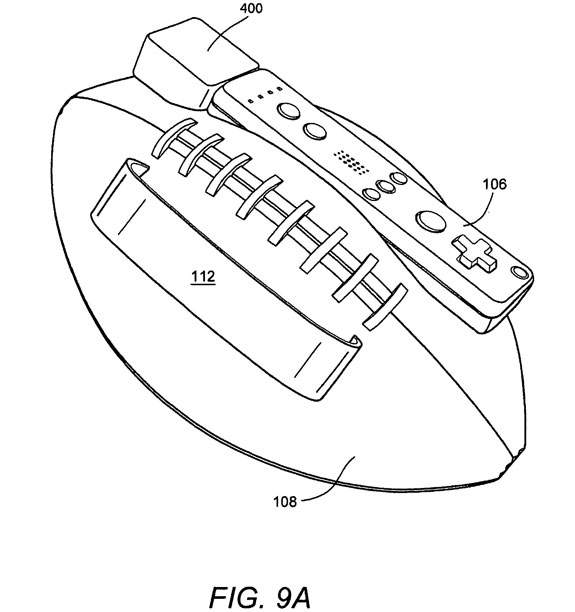 Nintendo Wii Football Controller Patent