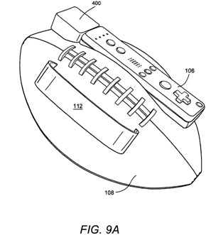 Nintendo Wii Football Controller Patent