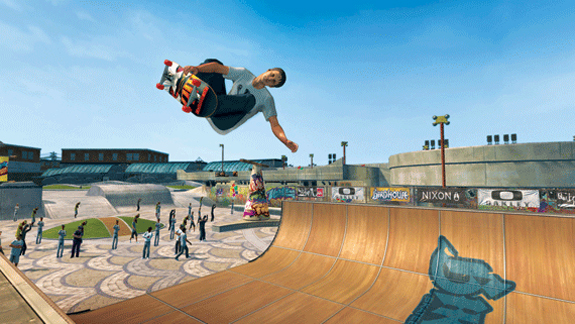 video games  Ride Like Tony Hawk