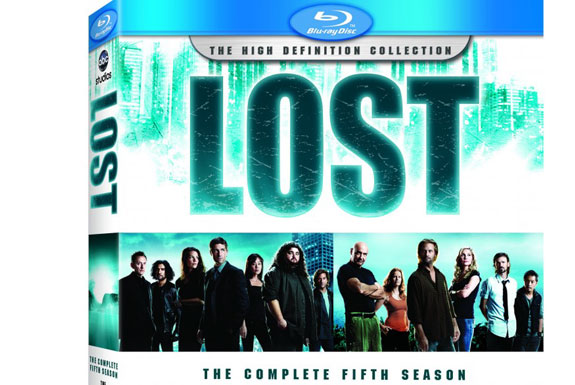 LOST Season 5 on Blu-Ray