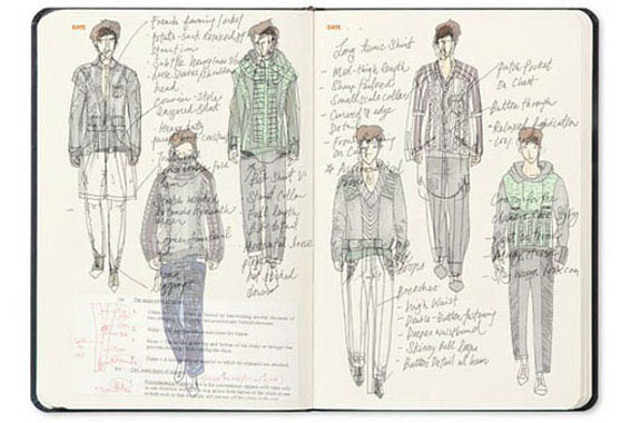 non fiction book  Fashionary: The Fashion Sketchbook + More