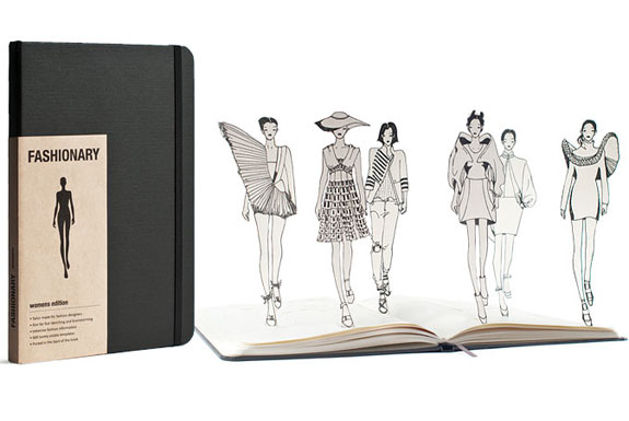 Fashionary: The Fashion Sketchbook + More