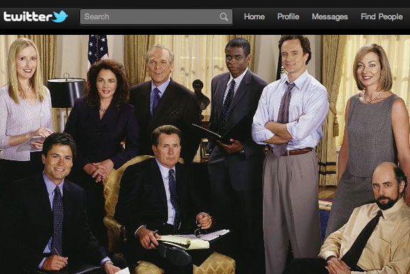 <i>The West Wing</i> Continues on Twitter