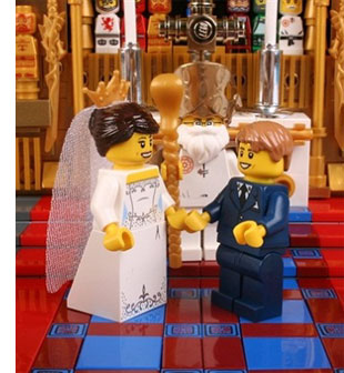 toys best of youtube  Westminster Abbey Made of LEGO