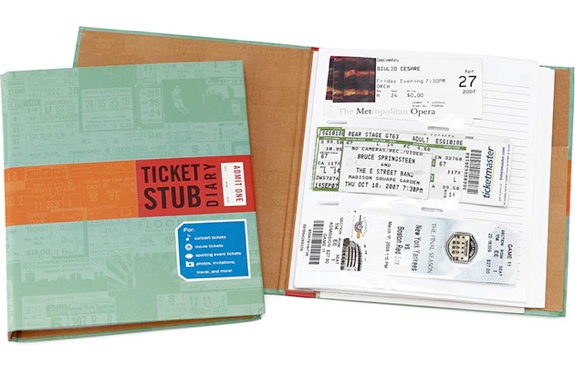 The Ticket Stub Diary