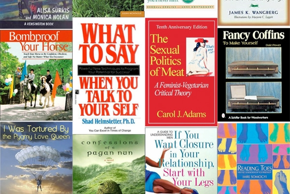 The Oddest Book Titles Of 2013