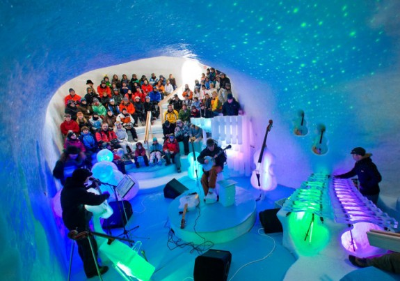 Sweden Music: The Ice Orchestra and Ice Instruments